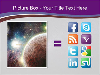 The Milky Way in the night sky PowerPoint Template - Slide 21