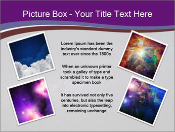 The Milky Way in the night sky PowerPoint Template - Slide 24