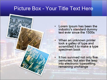 Beijing after sunset-night scene PowerPoint Template - Slide 17