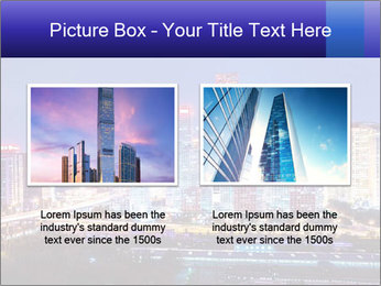 Beijing after sunset-night scene PowerPoint Template - Slide 18