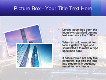 Beijing after sunset-night scene PowerPoint Template - Slide 20