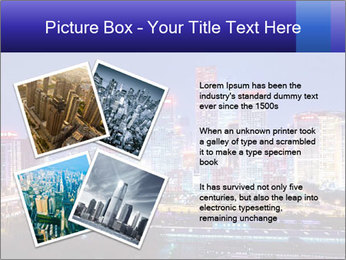 Beijing after sunset-night scene PowerPoint Template - Slide 23