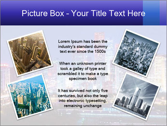 Beijing after sunset-night scene PowerPoint Template - Slide 24