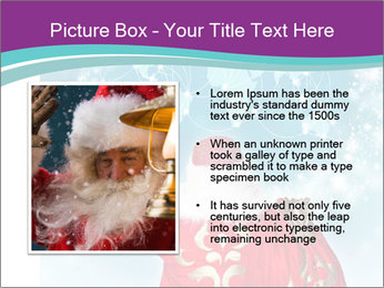 Santa Claus preparing for Christmas PowerPoint Template - Slide 13