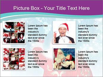 Santa Claus preparing for Christmas PowerPoint Template - Slide 14
