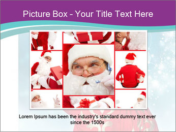 Santa Claus preparing for Christmas PowerPoint Template - Slide 15