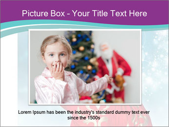 Santa Claus preparing for Christmas PowerPoint Template - Slide 16