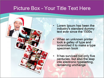Santa Claus preparing for Christmas PowerPoint Template - Slide 17