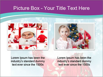 Santa Claus preparing for Christmas PowerPoint Template - Slide 18