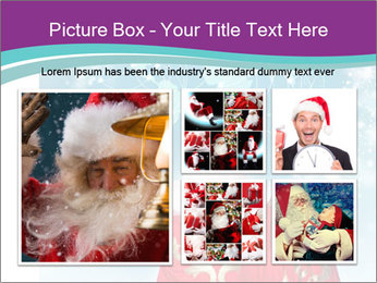 Santa Claus preparing for Christmas PowerPoint Template - Slide 19
