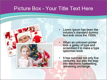 Santa Claus preparing for Christmas PowerPoint Template - Slide 20