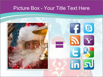Santa Claus preparing for Christmas PowerPoint Template - Slide 21
