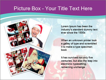 Santa Claus preparing for Christmas PowerPoint Template - Slide 23