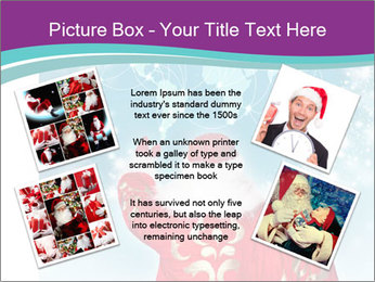 Santa Claus preparing for Christmas PowerPoint Template - Slide 24