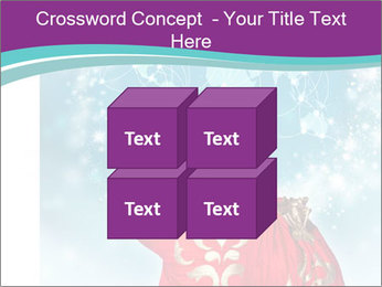 Santa Claus preparing for Christmas PowerPoint Template - Slide 39