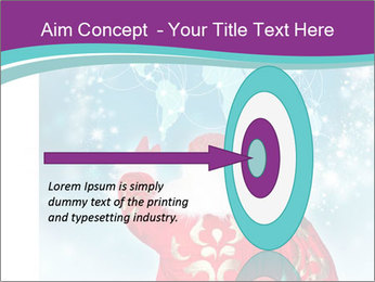 Santa Claus preparing for Christmas PowerPoint Template - Slide 83
