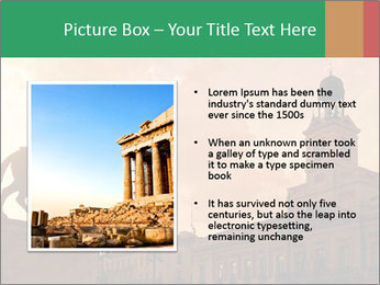 Equestrian statue PowerPoint Template - Slide 13