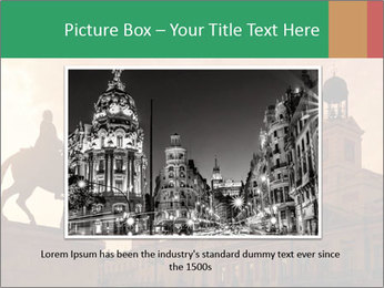 Equestrian statue PowerPoint Template - Slide 15