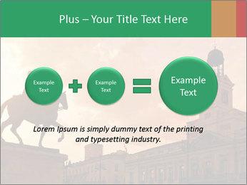 Equestrian statue PowerPoint Templates - Slide 75
