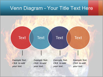 Burning earth globe PowerPoint Templates - Slide 32