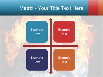 Burning earth globe PowerPoint Templates - Slide 37