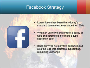 Burning earth globe PowerPoint Templates - Slide 6