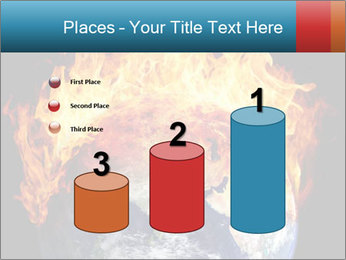 Burning earth globe PowerPoint Templates - Slide 65