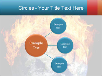 Burning earth globe PowerPoint Templates - Slide 79