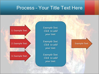 Burning earth globe PowerPoint Templates - Slide 85