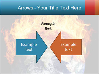 Burning earth globe PowerPoint Templates - Slide 90
