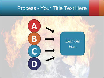 Burning earth globe PowerPoint Templates - Slide 94