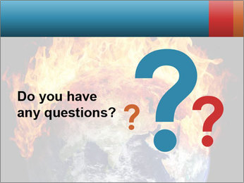 Burning earth globe PowerPoint Template - Slide 96