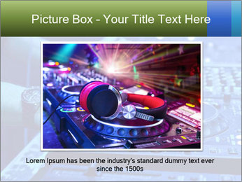 Dj mixes the track PowerPoint Template - Slide 15