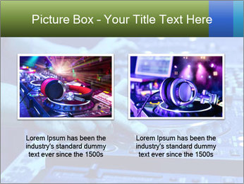 Dj mixes the track PowerPoint Template - Slide 18