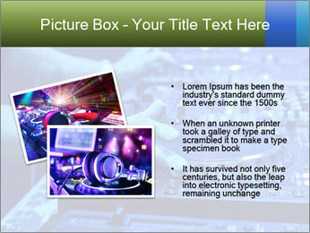 Dj mixes the track PowerPoint Template - Slide 20