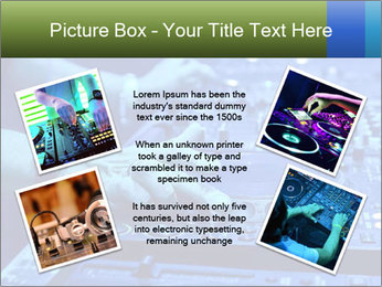 Dj mixes the track PowerPoint Template - Slide 24