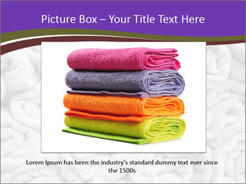 Swimming pool Towels PowerPoint Template - Slide 15