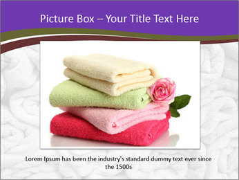 Swimming pool Towels PowerPoint Template - Slide 16