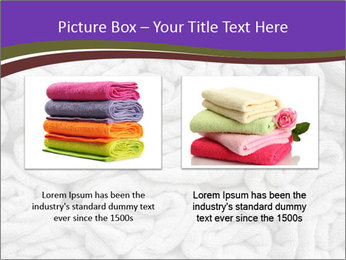 Swimming pool Towels PowerPoint Template - Slide 18