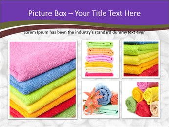 Swimming pool Towels PowerPoint Template - Slide 19