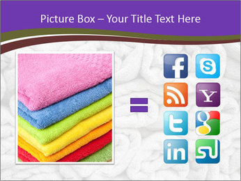 Swimming pool Towels PowerPoint Template - Slide 21