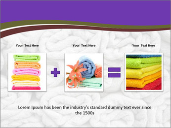 Swimming pool Towels PowerPoint Template - Slide 22
