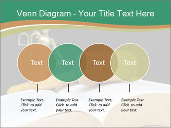 Gavel, law book PowerPoint Template - Slide 32