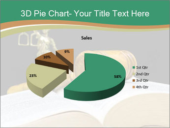 Gavel, law book PowerPoint Templates - Slide 35