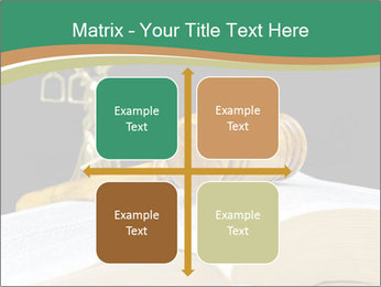 Gavel, law book PowerPoint Template - Slide 37