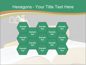 Gavel, law book PowerPoint Template - Slide 44