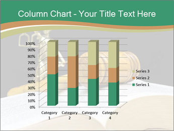Gavel, law book PowerPoint Template - Slide 50
