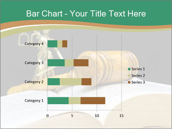 Gavel, law book PowerPoint Template - Slide 52