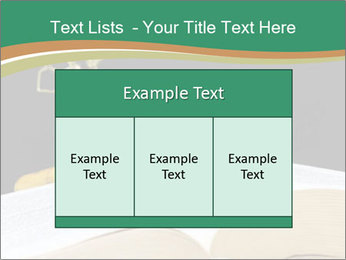 Gavel, law book PowerPoint Template - Slide 59