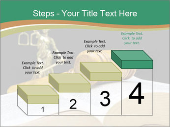 Gavel, law book PowerPoint Template - Slide 64
